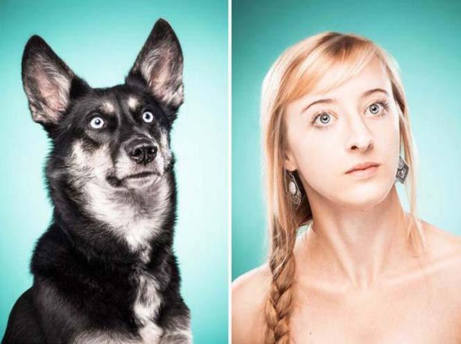 Σκύλοι και ιδιοκτήτες στην ίδια πόζα (20)