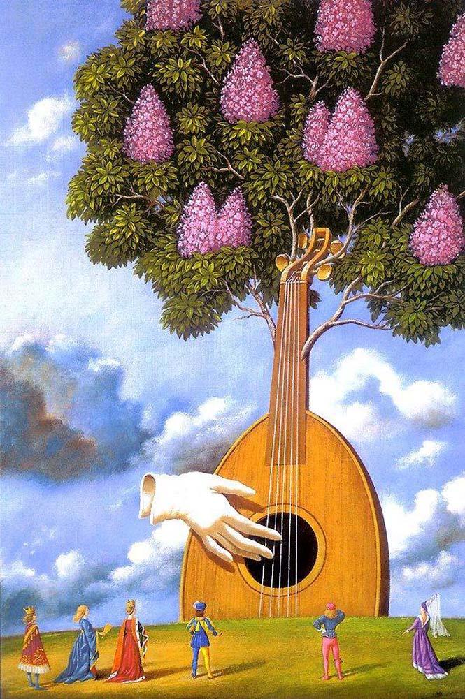 Σουρεαλιστικά έργα τέχνης από τον Rafal Olbinski (2)