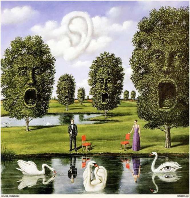 Σουρεαλιστικά έργα τέχνης από τον Rafal Olbinski (4)