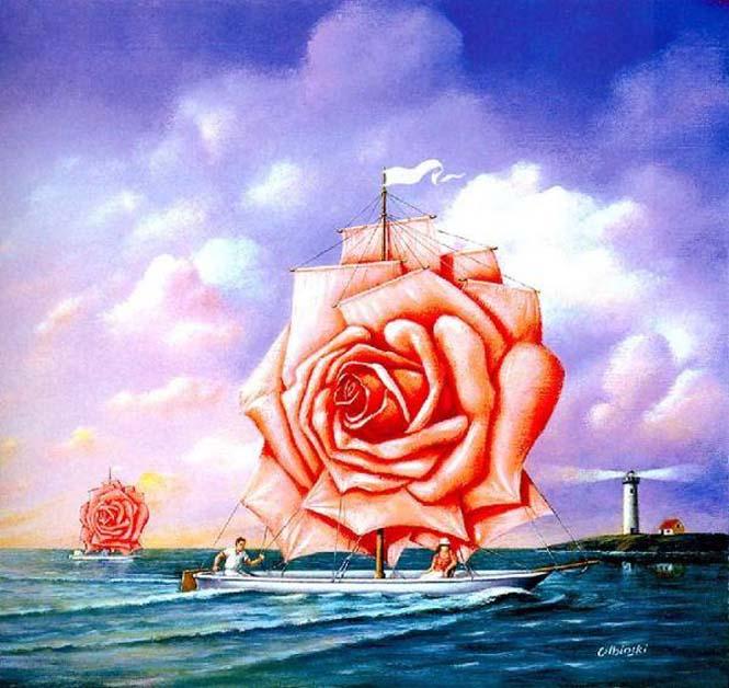Σουρεαλιστικά έργα τέχνης από τον Rafal Olbinski (5)