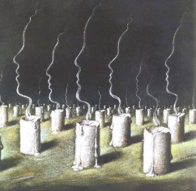 Σουρεαλιστικά έργα τέχνης από τον Rafal Olbinski (6)