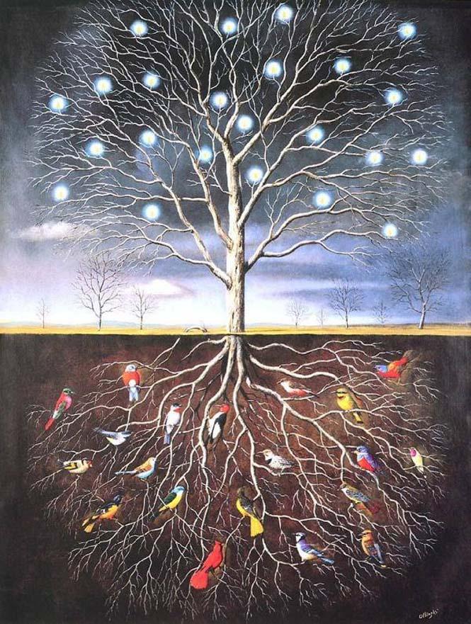 Σουρεαλιστικά έργα τέχνης από τον Rafal Olbinski (7)