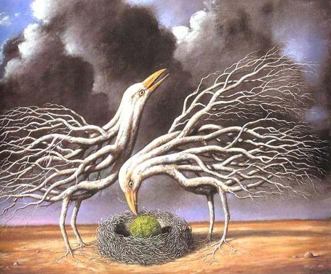 Σουρεαλιστικά έργα τέχνης από τον Rafal Olbinski (12)