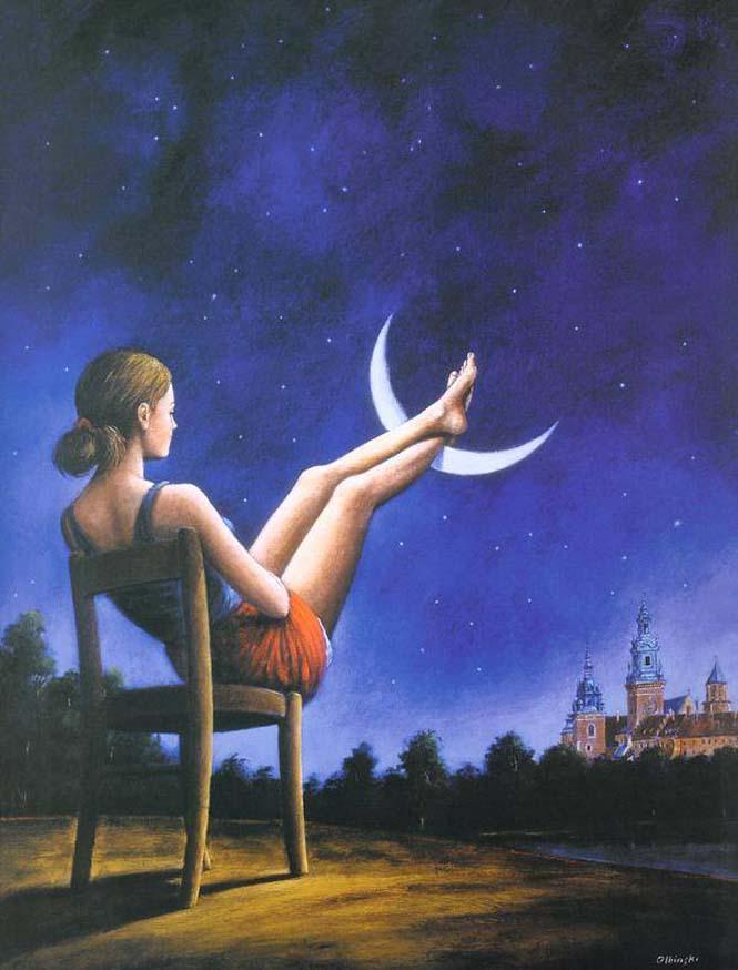 Σουρεαλιστικά έργα τέχνης από τον Rafal Olbinski (14)