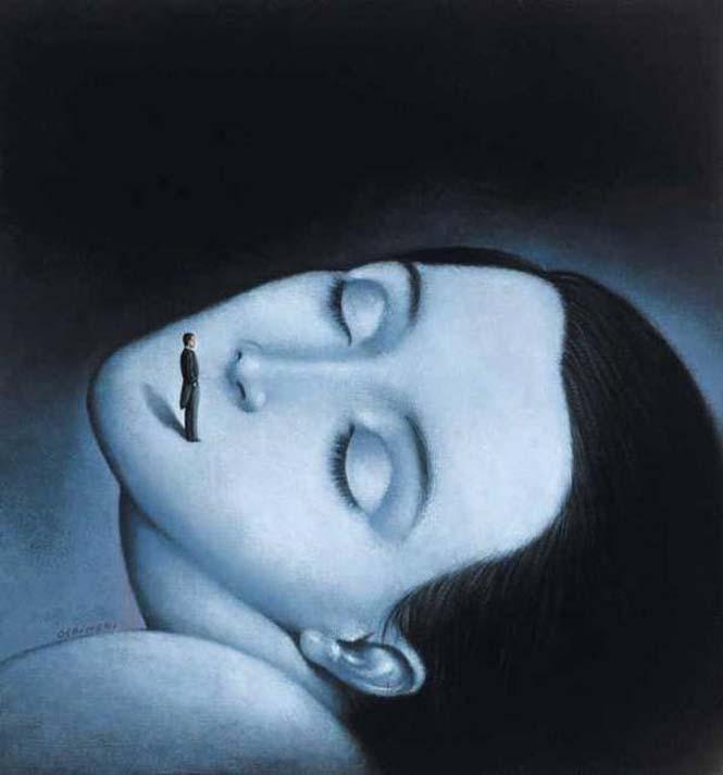 Σουρεαλιστικά έργα τέχνης από τον Rafal Olbinski (15)