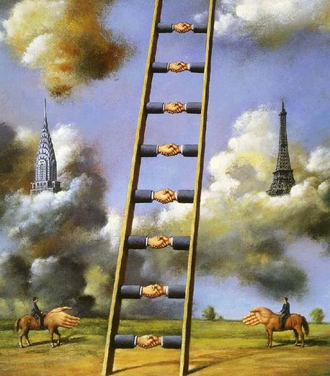 Σουρεαλιστικά έργα τέχνης από τον Rafal Olbinski (16)