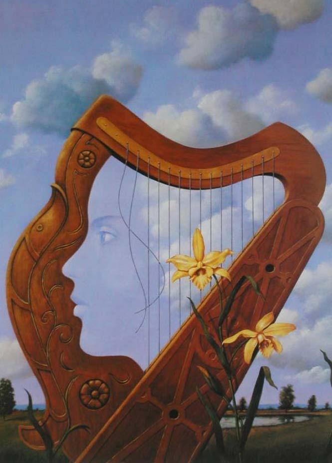 Σουρεαλιστικά έργα τέχνης από τον Rafal Olbinski (17)