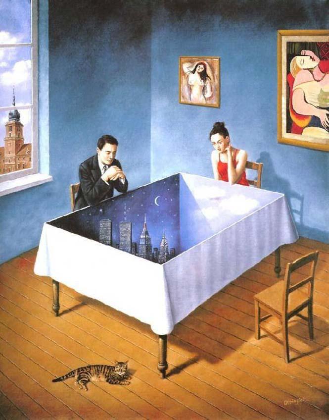 Σουρεαλιστικά έργα τέχνης από τον Rafal Olbinski (18)