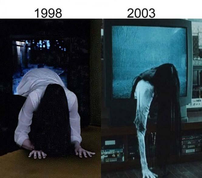 Σύγκριση διάσημων ταινιών με τα πρόσφατα remakes τους (3)