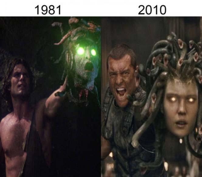 Σύγκριση διάσημων ταινιών με τα πρόσφατα remakes τους (4)