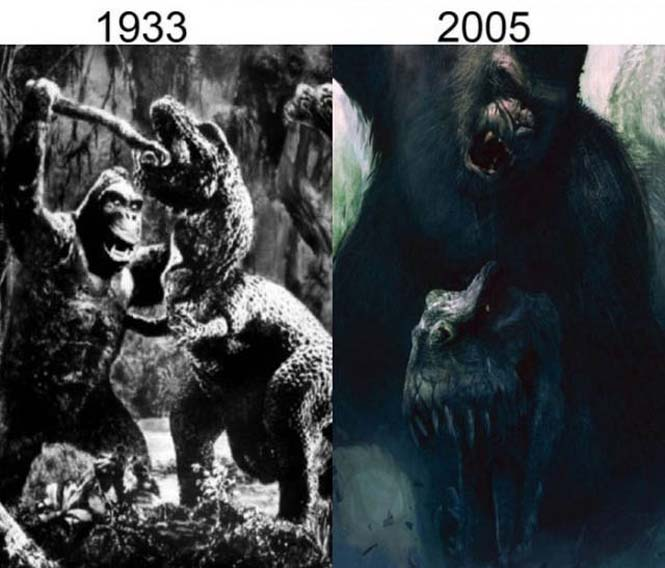 Σύγκριση διάσημων ταινιών με τα πρόσφατα remakes τους (7)