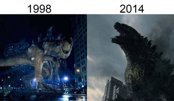 Σύγκριση διάσημων ταινιών με τα πρόσφατα remakes τους (8)