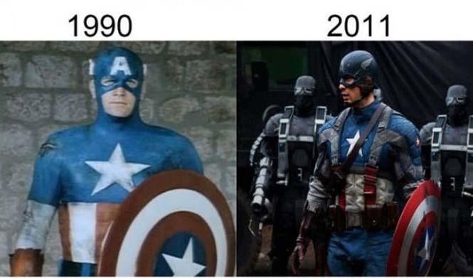 Σύγκριση διάσημων ταινιών με τα πρόσφατα remakes τους (9)