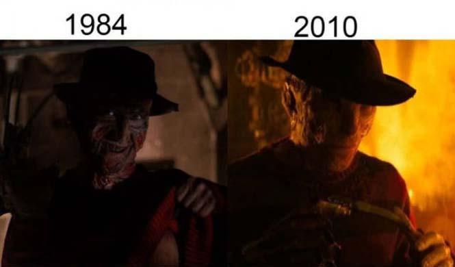 Σύγκριση διάσημων ταινιών με τα πρόσφατα remakes τους (10)