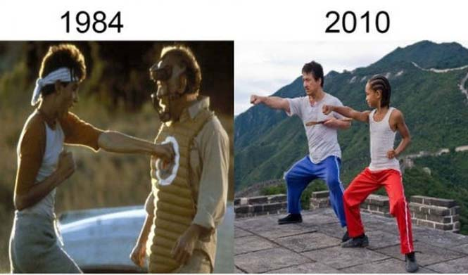 Σύγκριση διάσημων ταινιών με τα πρόσφατα remakes τους (11)