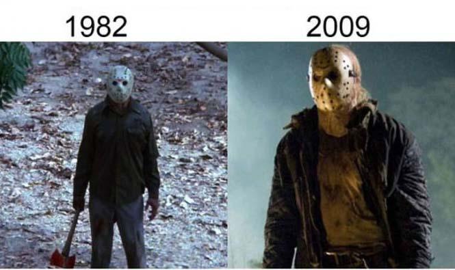 Σύγκριση διάσημων ταινιών με τα πρόσφατα remakes τους (12)
