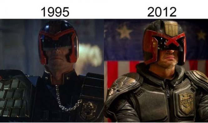 Σύγκριση διάσημων ταινιών με τα πρόσφατα remakes τους (13)