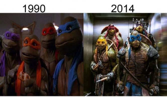 Σύγκριση διάσημων ταινιών με τα πρόσφατα remakes τους (16)