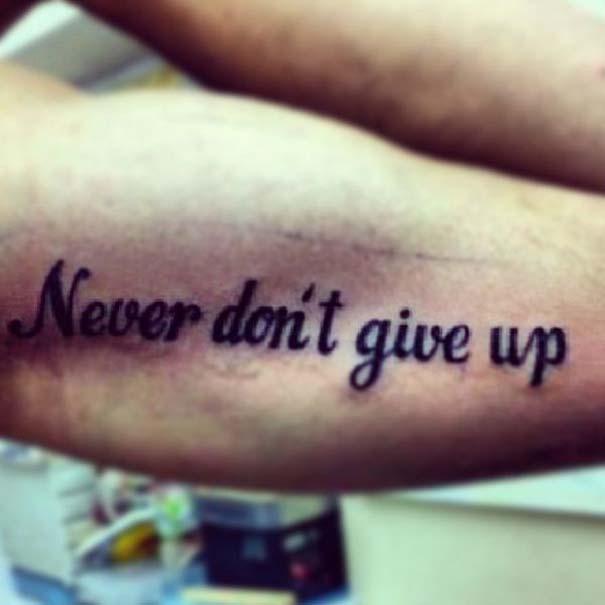 Καταστροφή χωρίς... επιστροφή: 19 τατουάζ με ορθογραφικά λάθη (14)