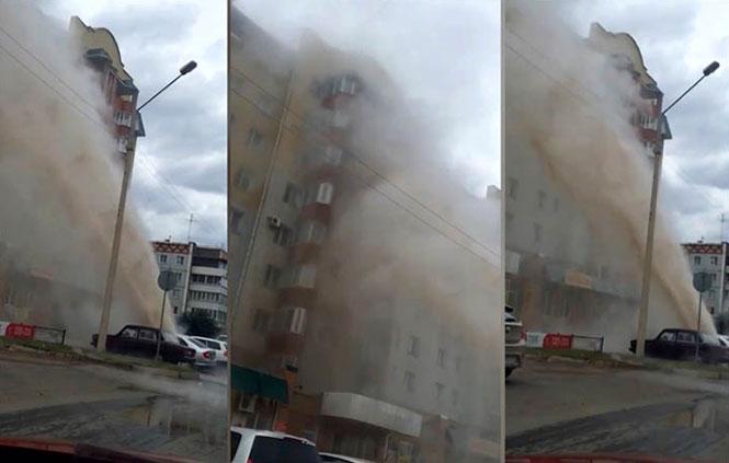 Τι συμβαίνει όταν σπάει ένας σωλήνας με καυτό νερό στη Ρωσία;