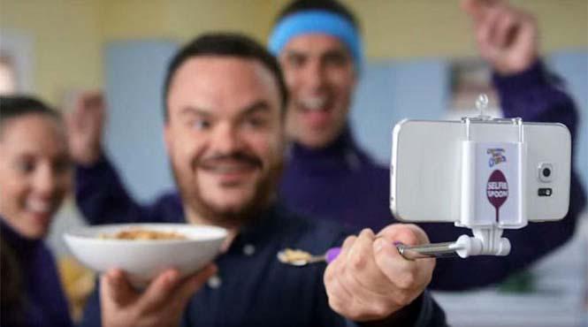 Τώρα μπορείς να βγάζεις selfies ακόμα και την ώρα που τρως (3)