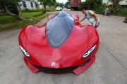 27χρονος Κινέζος μηχανικός κατασκεύασε το δικό του super car (1)