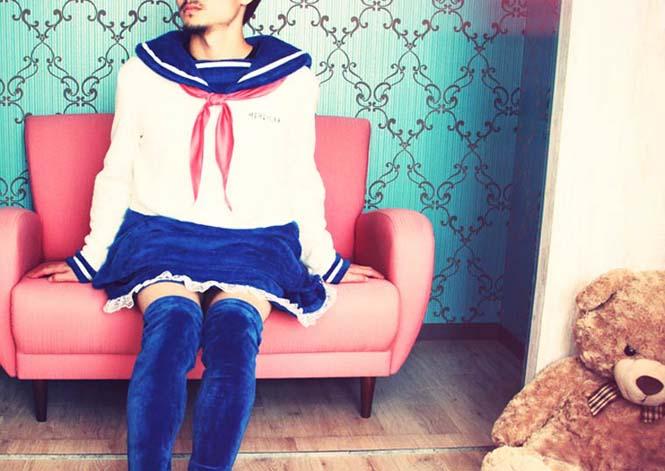 Αλλόκοτες Ιαπωνικές πιτζάμες για άνδρες (1)