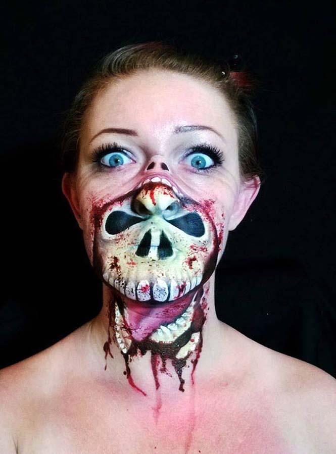 Ανατριχιαστικά μακιγιάζ από την Nikki Shelley (2)
