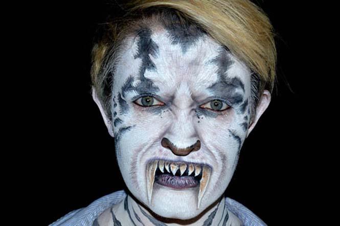 Ανατριχιαστικά μακιγιάζ από την Nikki Shelley (3)