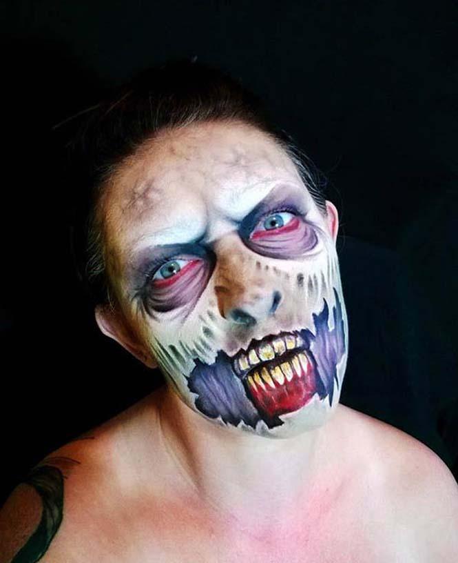Ανατριχιαστικά μακιγιάζ από την Nikki Shelley (4)