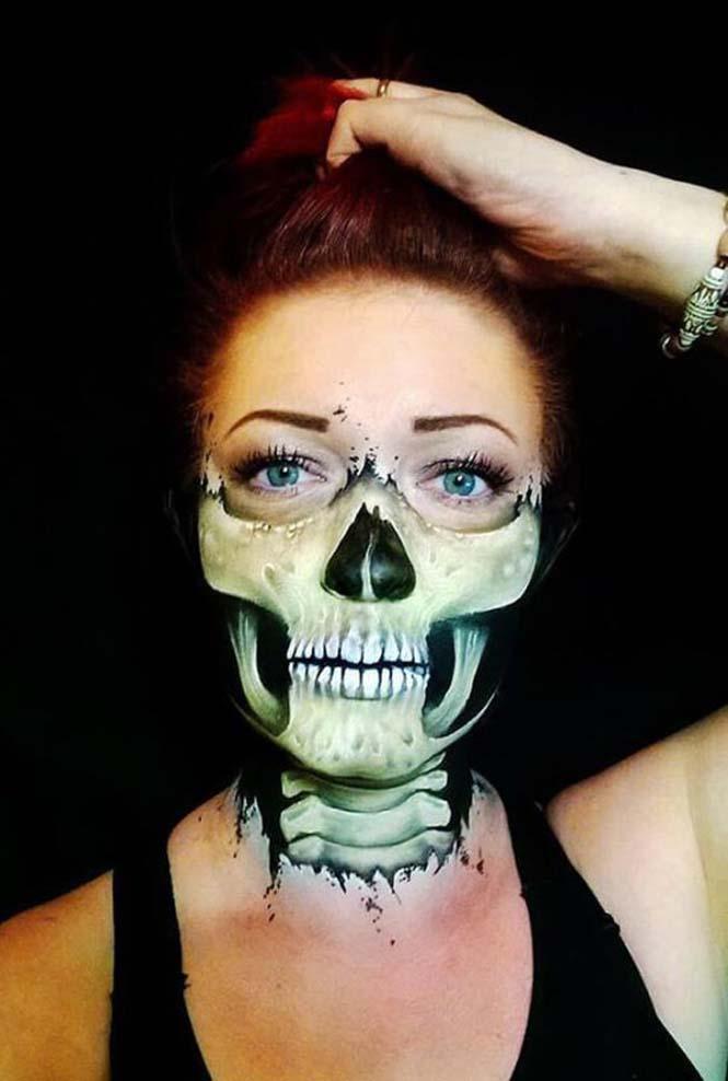 Ανατριχιαστικά μακιγιάζ από την Nikki Shelley (10)