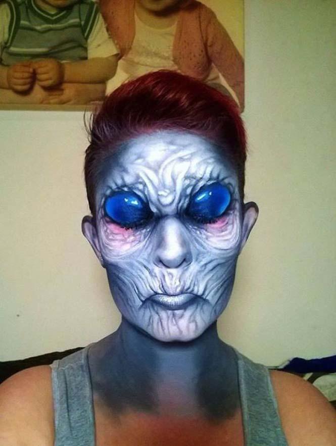 Ανατριχιαστικά μακιγιάζ από την Nikki Shelley (16)