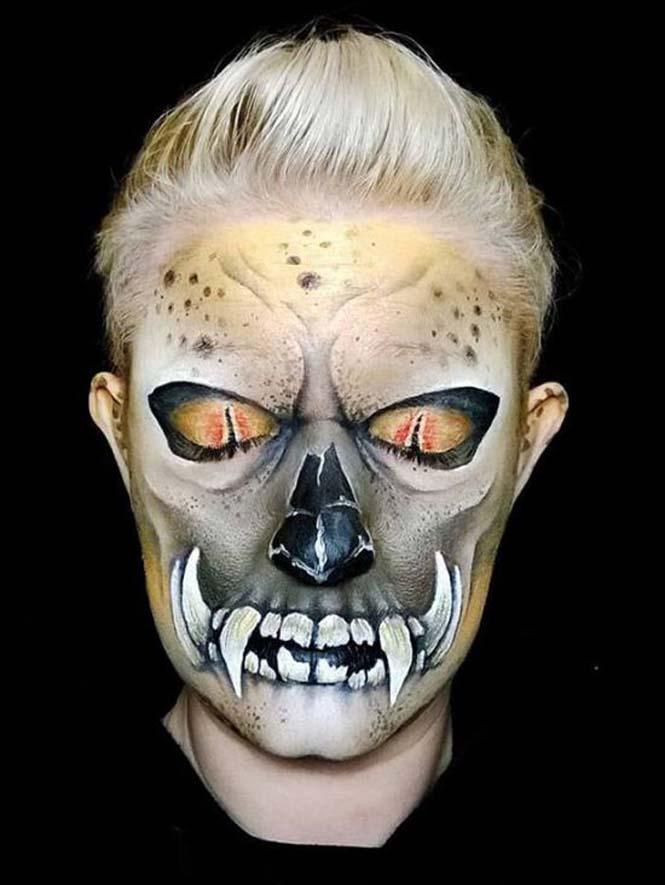 Ανατριχιαστικά μακιγιάζ από την Nikki Shelley (17)