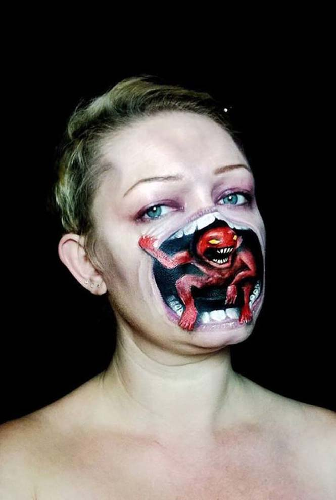 Ανατριχιαστικά μακιγιάζ από την Nikki Shelley (19)