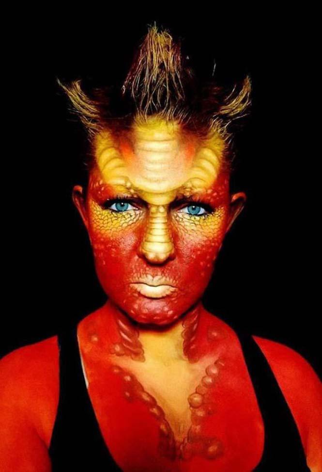 Ανατριχιαστικά μακιγιάζ από την Nikki Shelley (20)