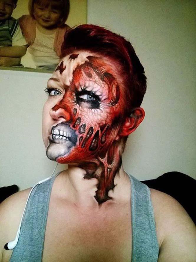 Ανατριχιαστικά μακιγιάζ από την Nikki Shelley (23)