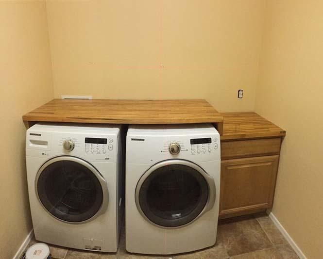 Εντυπωσιακή μετατροπή δωματίου πλυντηρίου (8)