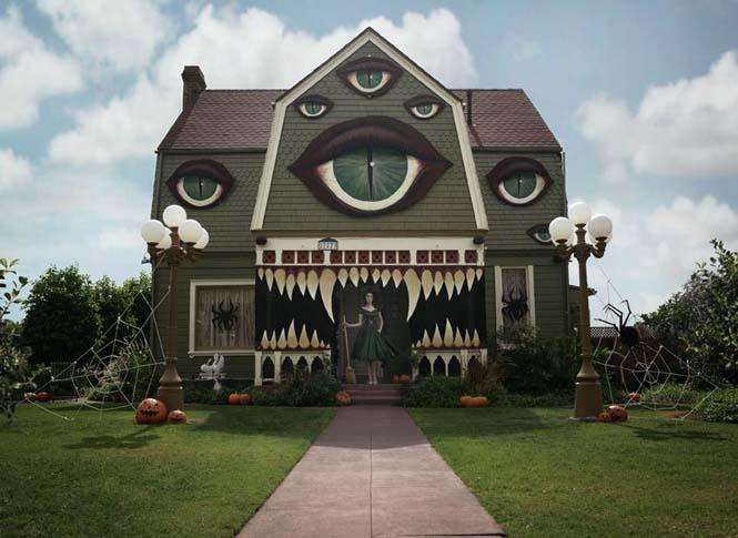 Επική μετατροπή σπιτιού για το Halloween (4)
