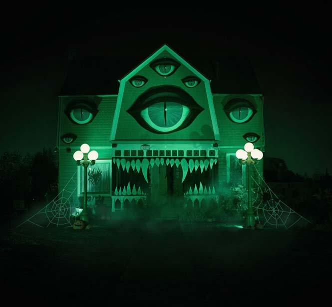 Επική μετατροπή σπιτιού για το Halloween (5)