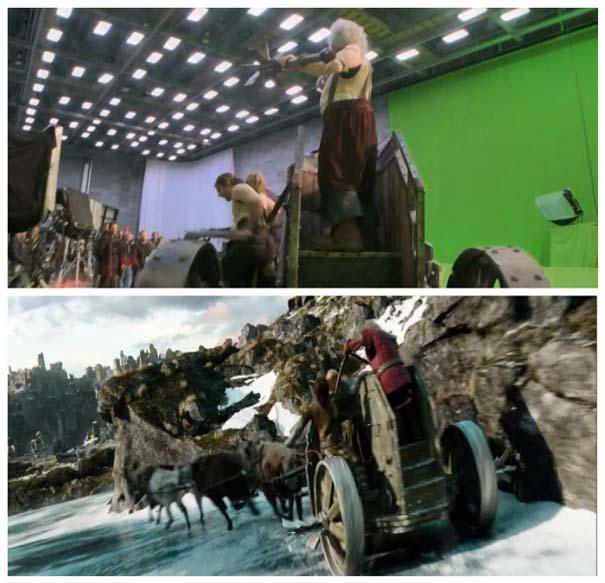 Φωτογραφίες από τα γυρίσματα που θα αλλάξουν τον τρόπο που βλέπετε διάσημες ταινίες (3)