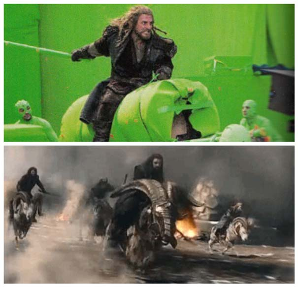 Φωτογραφίες από τα γυρίσματα που θα αλλάξουν τον τρόπο που βλέπετε διάσημες ταινίες (5)