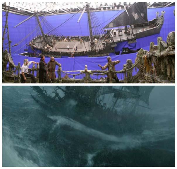 Φωτογραφίες από τα γυρίσματα που θα αλλάξουν τον τρόπο που βλέπετε διάσημες ταινίες (11)