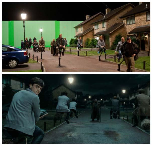 Φωτογραφίες από τα γυρίσματα που θα αλλάξουν τον τρόπο που βλέπετε διάσημες ταινίες (23)