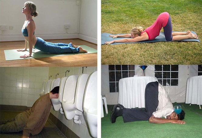 23 φωτογραφίες μεθυσμένων που μοιάζουν σαν να κάνουν στάσεις της Yoga