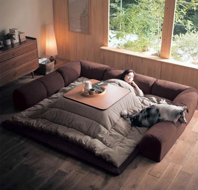 Γιαπωνέζικη εφεύρεση για να μην αποχωριστείτε ποτέ ξανά το κρεβάτι σας (1)