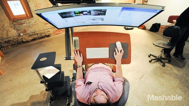 Γραφείο που σου επιτρέπει να εργάζεσαι ξαπλωμένος (1)