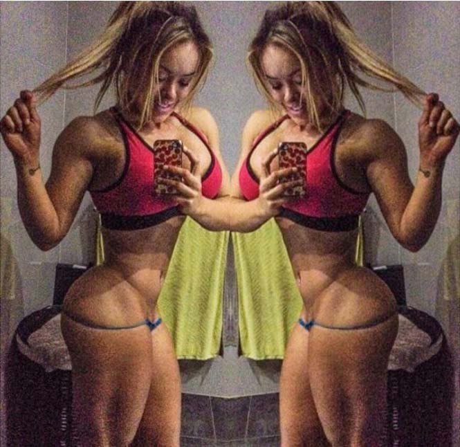 Γυναίκα δείχνει την αλλαγή στο σώμα της μετά από 4 ώρες καθημερινής γυμναστικής για 5 μήνες (5)