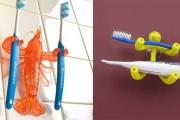 Οι πιο ιδιαίτερες βάσεις για οδοντόβουρτσες