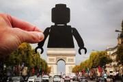 Καλλιτέχνης αλλάζει διάσημα μνημεία χρησιμοποιώντας χαρτάκια (2)