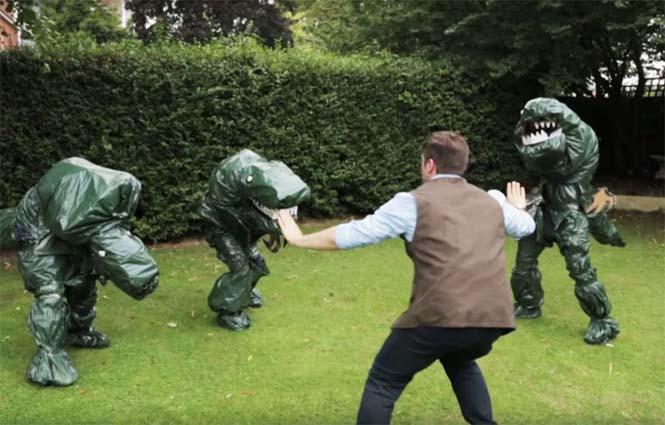 Κάνοντας αναπαράσταση του Jurassic World χωρίς budget (2)
